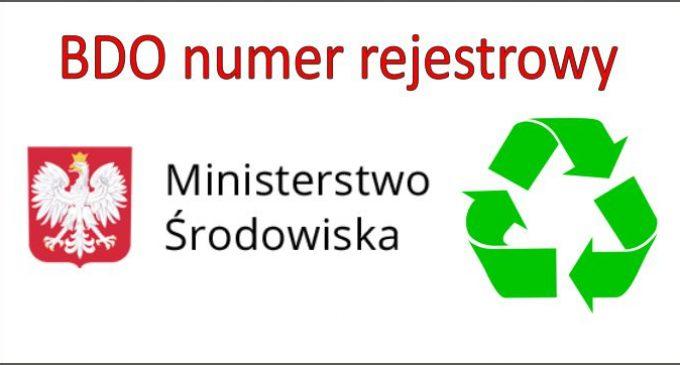 Informacja o sposobie umieszczania nr rejestrowego na dokumentach