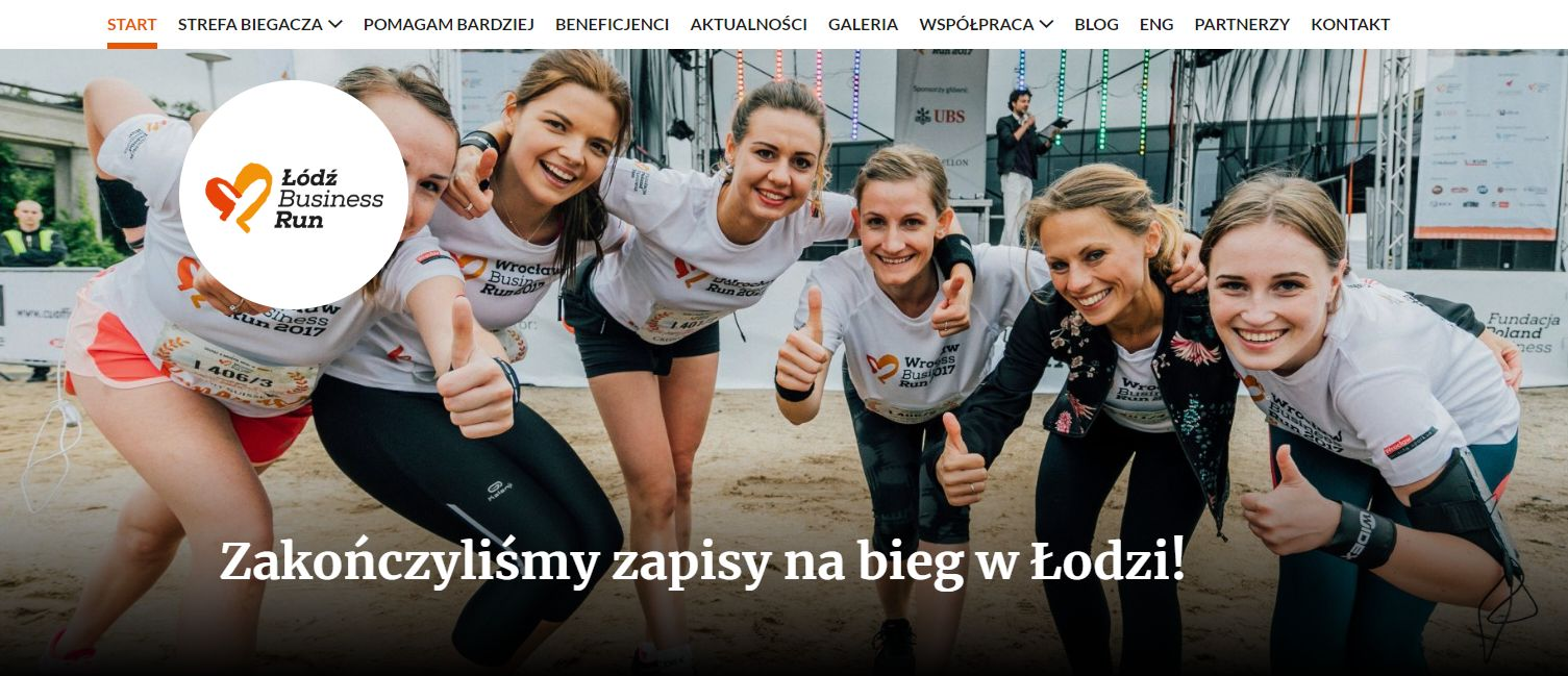 ECO-ABC pobiegnie w Łódź Business Run