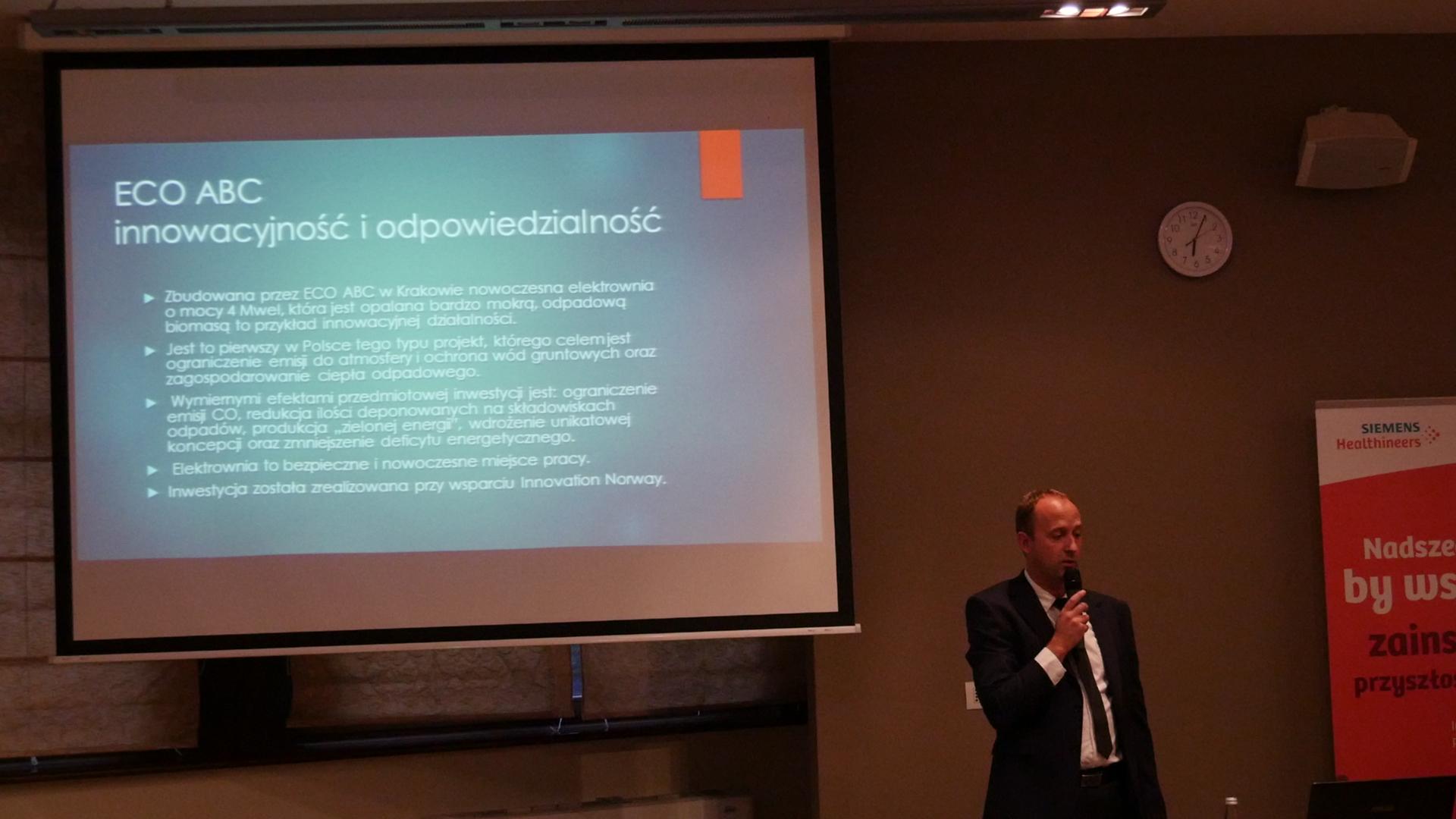Eco-Abc podpowiada dyrektorom małopolskich szpitali (wideo)